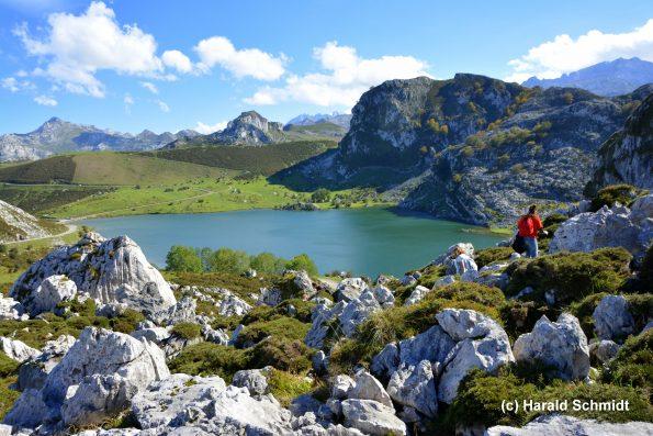 Bergsee Asturien