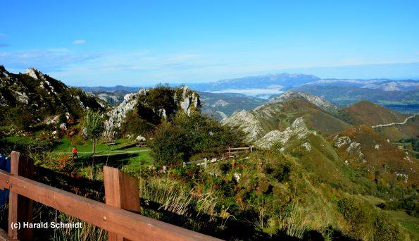Asturien hat Gebirge und Meer