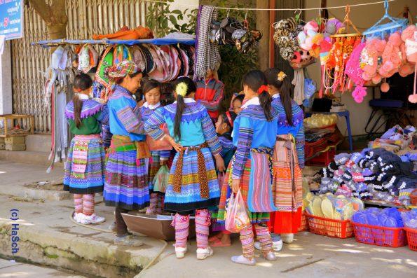 Hmong-Mädchen